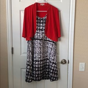 Dressbarn dress and jacket combo 16